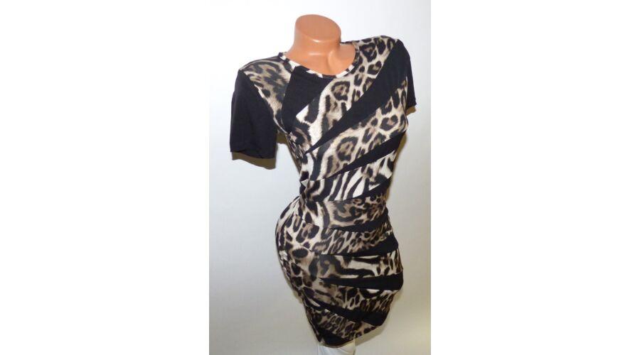 5d10a42b13 Leopárd mintás ruha - Ruha - Luna Gardrobe Női ruha WebÁruház ...