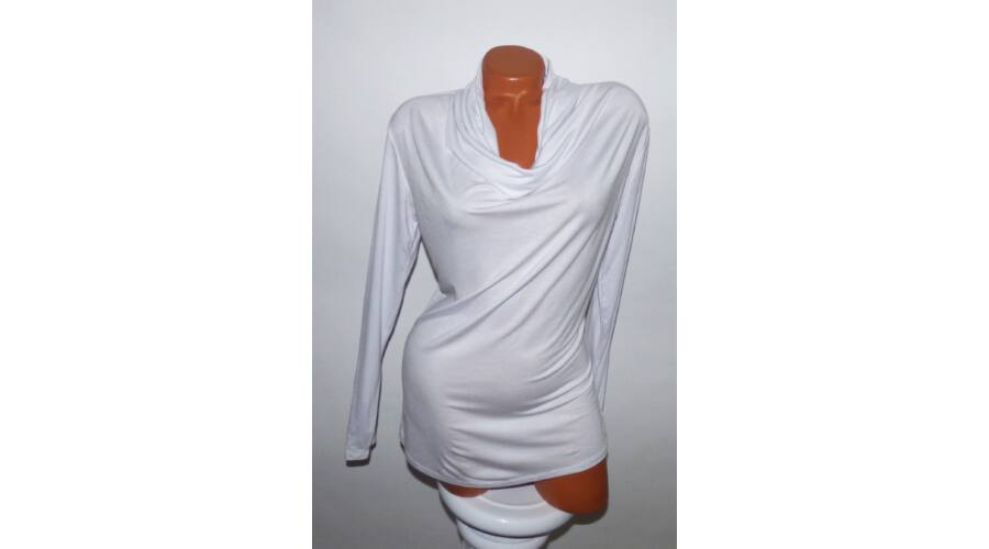 Ejtett nyakú felső - Póló   Pulóver - Luna Gardrobe Női ruha WebÁruház 8032dcee68