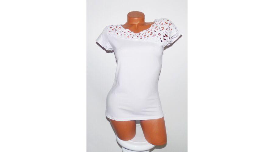 599282dfbd Horgolt póló - Póló / Pulóver - Luna Gardrobe Női ruha WebÁruház ...