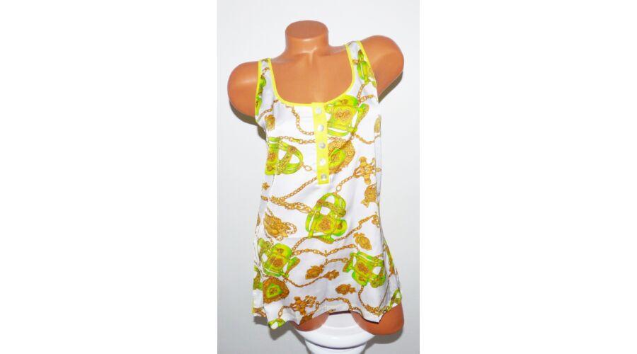 a4b575c279 Arany láncos trikó - Póló / Pulóver - Luna Gardrobe Női ruha WebÁruház,  Akciós - olcsó női ruha, Női ruha webshop, Online trendi - divatos ruha
