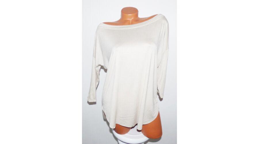 Csónak nyakú felső - Póló   Pulóver - Luna Gardrobe Női ruha WebÁruház 8183f09072