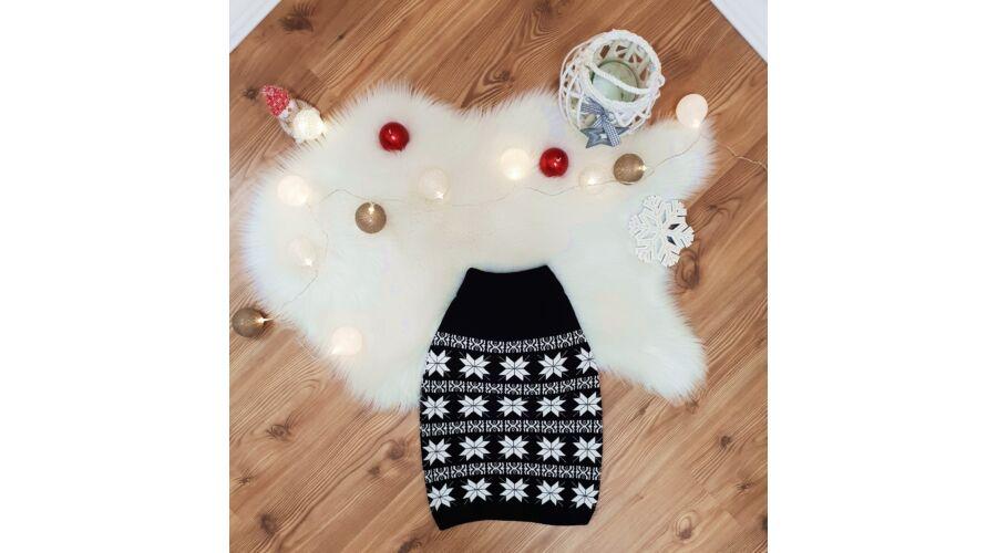 50f0b52f0c Hópehely mintás, kötött karácsonyi szoknya - AKCIÓS Termékek - Luna ...