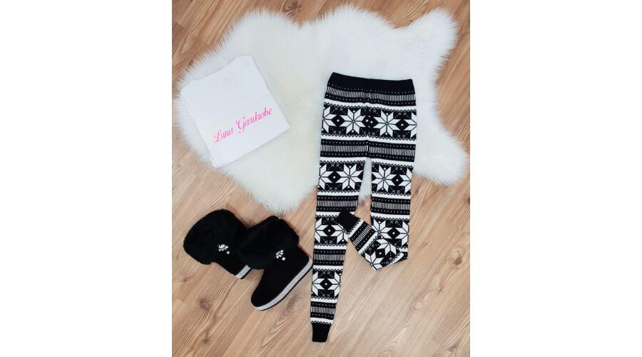 73acafe226 Hópehely mintás karácsonyi leggings - AKCIÓS Termékek - Luna ...