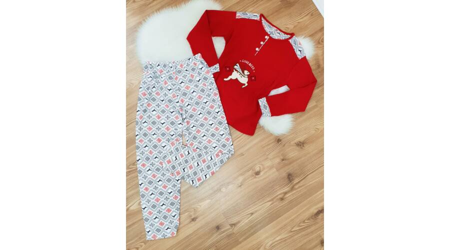 21045c87d0 Rénszarvas mintás pizsama szett - Kiegészítők - Luna Gardrobe Női ...