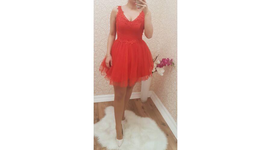 2e2c7cbb89 Pretty Women fűzős piros ruha - Ruha - Luna Gardrobe Női ruha ...
