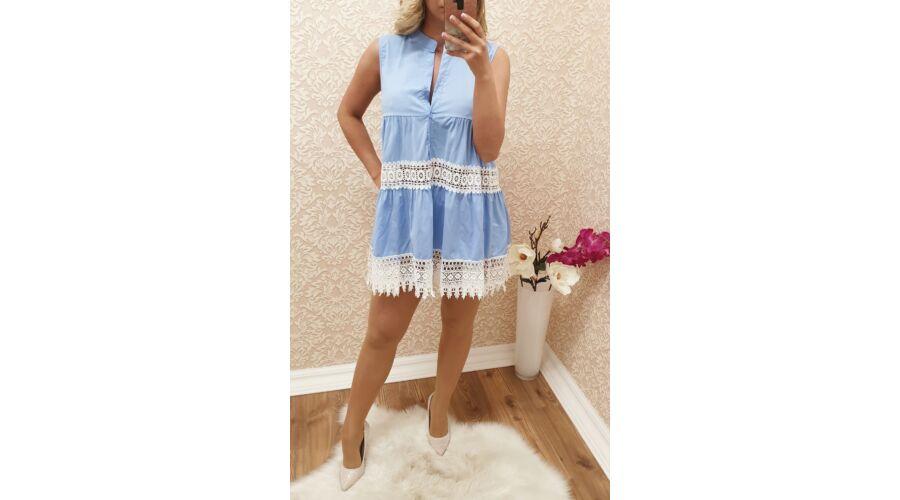 480778436e Kék, horgolt ruha - Ruha - Luna Gardrobe Női ruha WebÁruház, Akciós ...