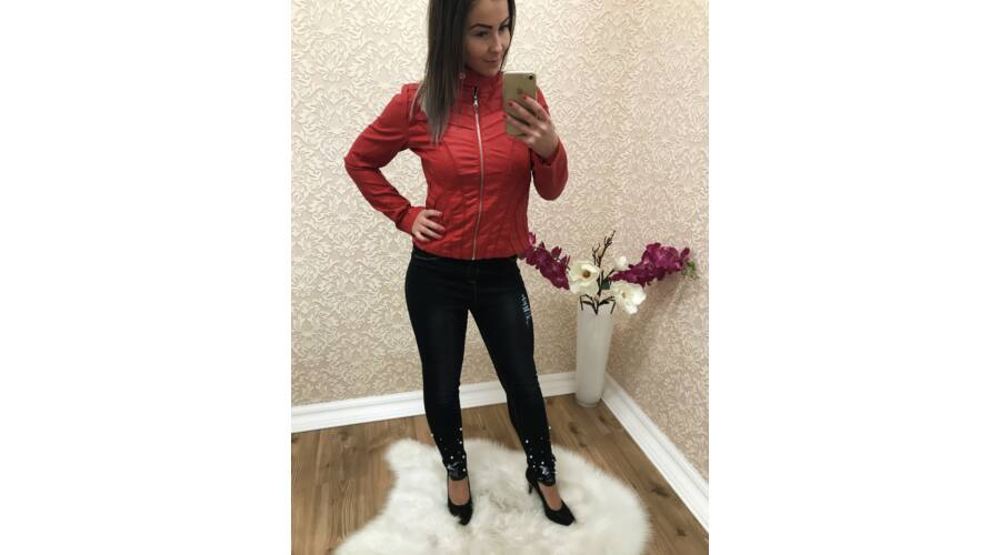 f239ce73b4 Vagány műbőr dzseki - Dzseki / Kabát - Luna Gardrobe Női ruha ...