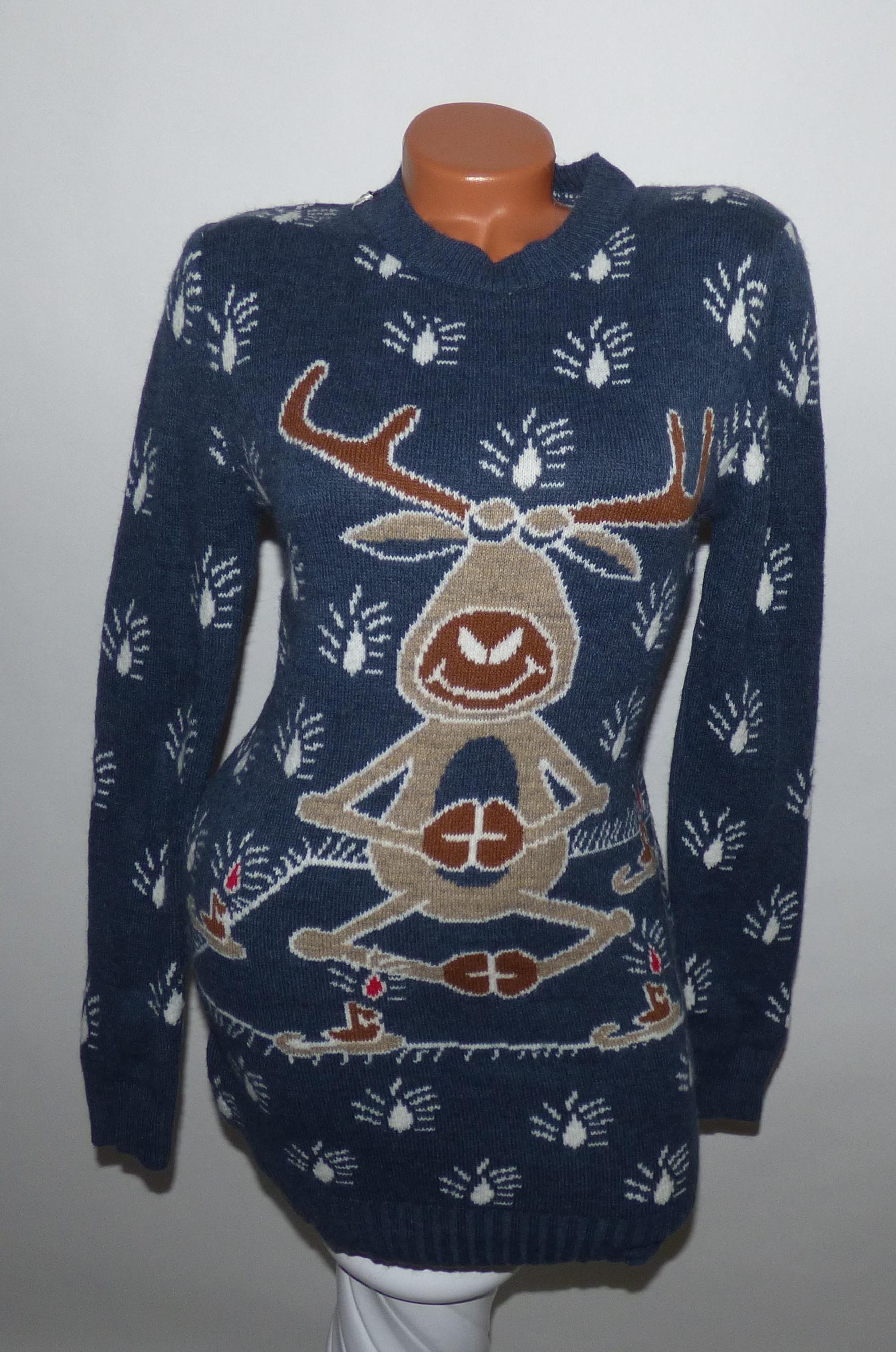 Hosszított karácsonyi pulóver - Póló   Pulóver - Luna Gardrobe Női ruha  WebÁruház 1b2792fb83