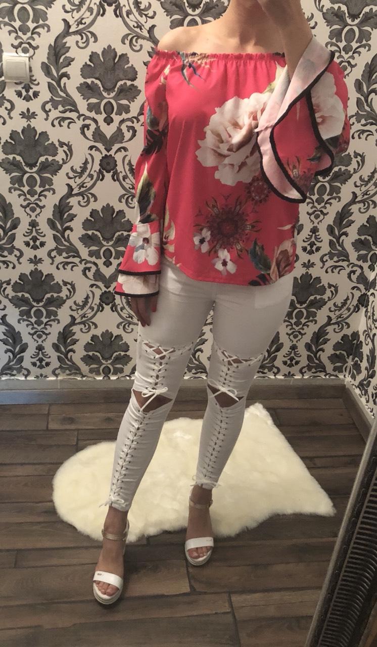 2e2bafce5c Fehér fűzős nadrág - Nadrág / Szoknya - Luna Gardrobe Női ruha WebÁruház,  Akciós - olcsó női ruha, Női ruha webshop, Online trendi - divatos ruha