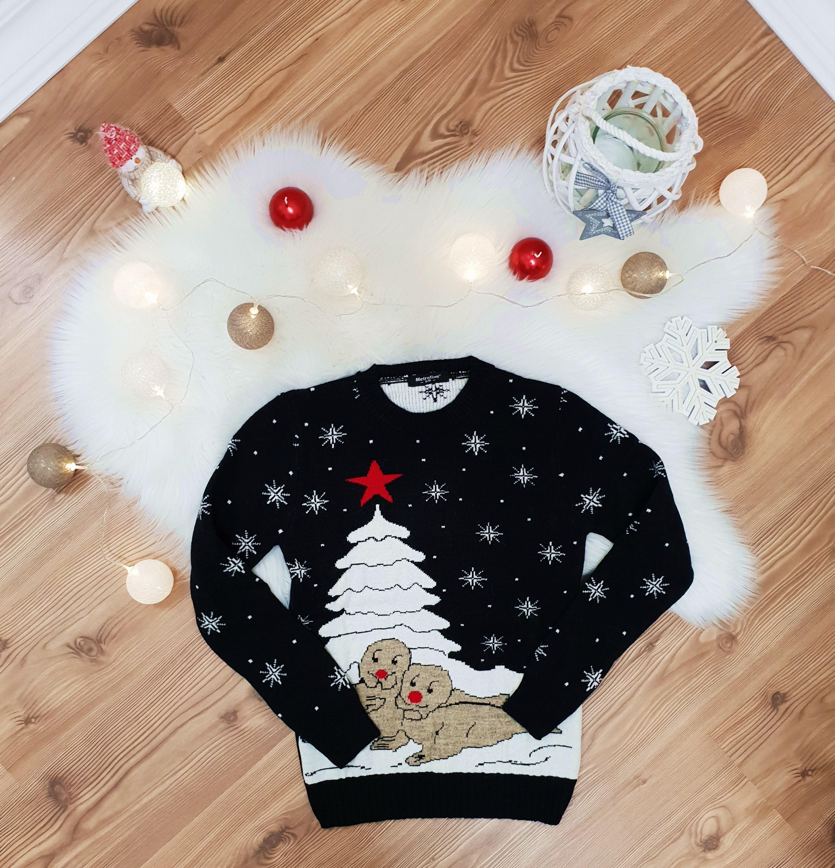 34123ced74 Cuki karácsonyi pulóver - Póló / Pulóver - Luna Gardrobe Női ruha  WebÁruház, Akciós - olcsó női ruha, Női ruha webshop, Online trendi -  divatos ruha